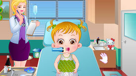 Image for 26 Factual Inaccuracies In 'Baby Hazel Stomach Care Game'