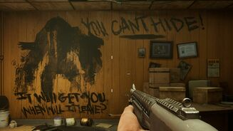 Image for Let's take a moment to enjoy the post-it notes and graffiti in Back 4 Blood