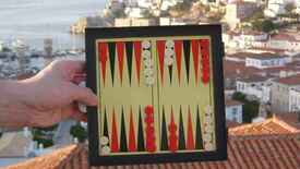 Image for 7-in-1 Magnetic Family Game: Backgammon