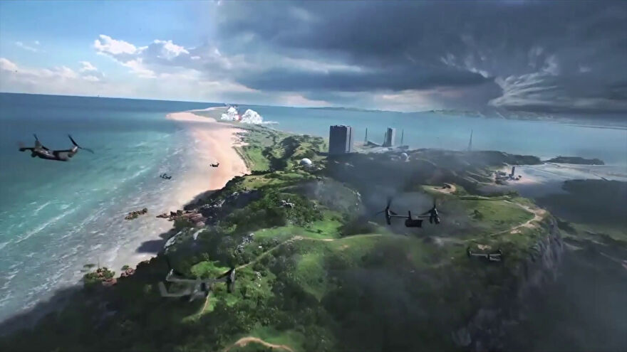 An allegedly leaked image of the new Battlefield in 2021.