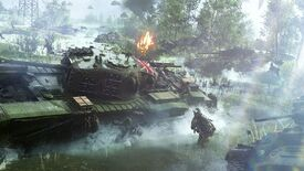 """Image for Battlefield V interview: dodging the lootbox question, and why battle royale """"would really fit the universe"""""""
