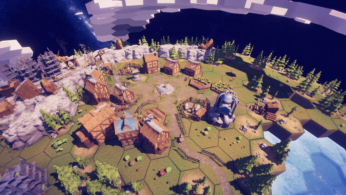 Image for Before We Leave, a chill citybuilder with space whales, is out now