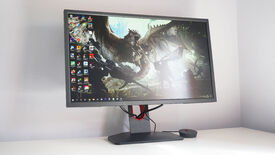 A photo of the BenQ Zowie XL2546K gaming monitor