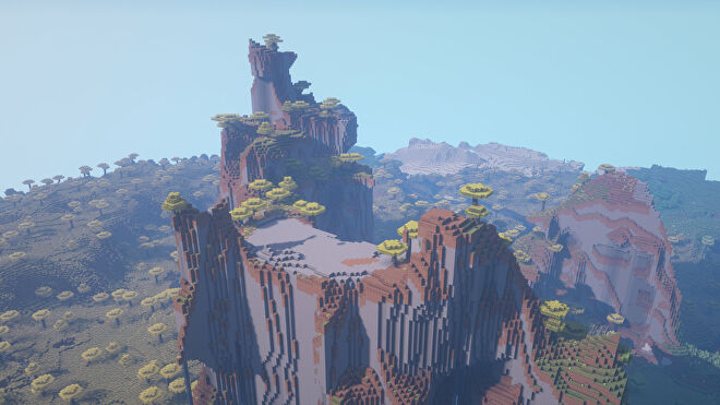 A Minecraft screenshot of a new world created with the seed 189354817.