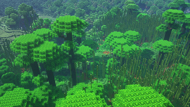 A Minecraft screenshot of a new world created with the seed 8047404964767578727.