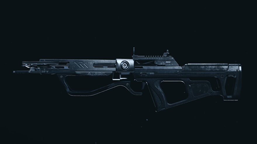 A screenshot of the Crossbow as it appears in the Call of Duty: Warzone Gunsmith.