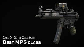 Image for Black Ops Cold War: Best MP5 class and loadout setup (plus Gunfighter)