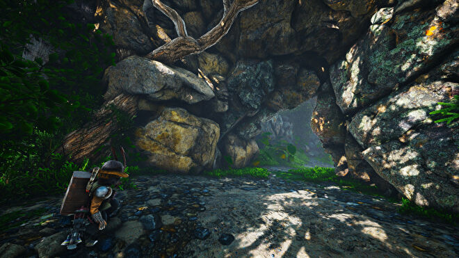 A Biomutant screenshot of the Riddleroom after it has been opened.