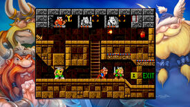 A screenshot of The Lost Vikings in the Blizzard Arcade Collection.