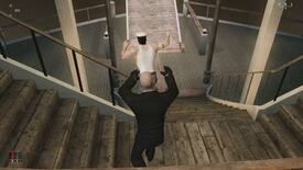 Image for The Joy Of shoving people in Hitman: Blood Money