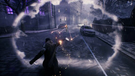 A Brute uses its Shockwave Punch ability to deflect an enemy's bullets in Bloodhunt.