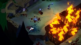Image for Bloodroots looks like Hotline Miami dialled up the American frontier