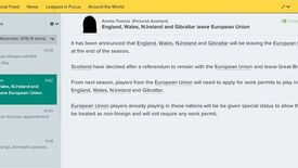 Image for Football Manager 17 Includes A Brexit Simulator