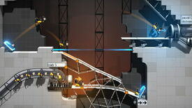 Image for Now you're engineering with portals: Bridge Constructor Portal released