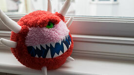 Image for Wot I & My 2 Year Old Think: DOOM Cacodemon Plush Toy