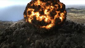 Call Of Duty: Warzone - A nuclear explosion covers the Verdansk map
