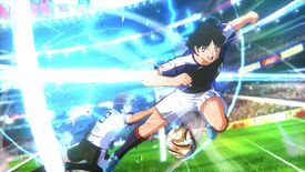 Image for Captain Tsubasa's anime football special moves look wild