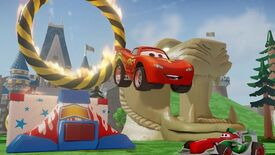 Image for Loading (Wind)Screen: Disney Infinity Shows Cars Things