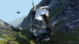 Image for Physics! Watch Some Cars Tumble Down A Mountain