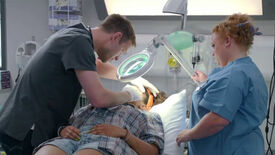 Image for Scrubbing In For Casualty's First Day Experiment