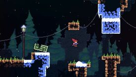Image for Watch 9 minutes of mountain-climbing in Celeste