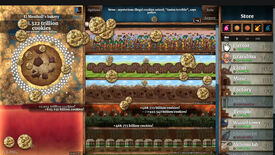 Cookie Clicker - El Meatball's bakery generating 3.322 trillion cookies per second with a sidebar of unlocked Grandmas, Farms, Factories producing cookies.