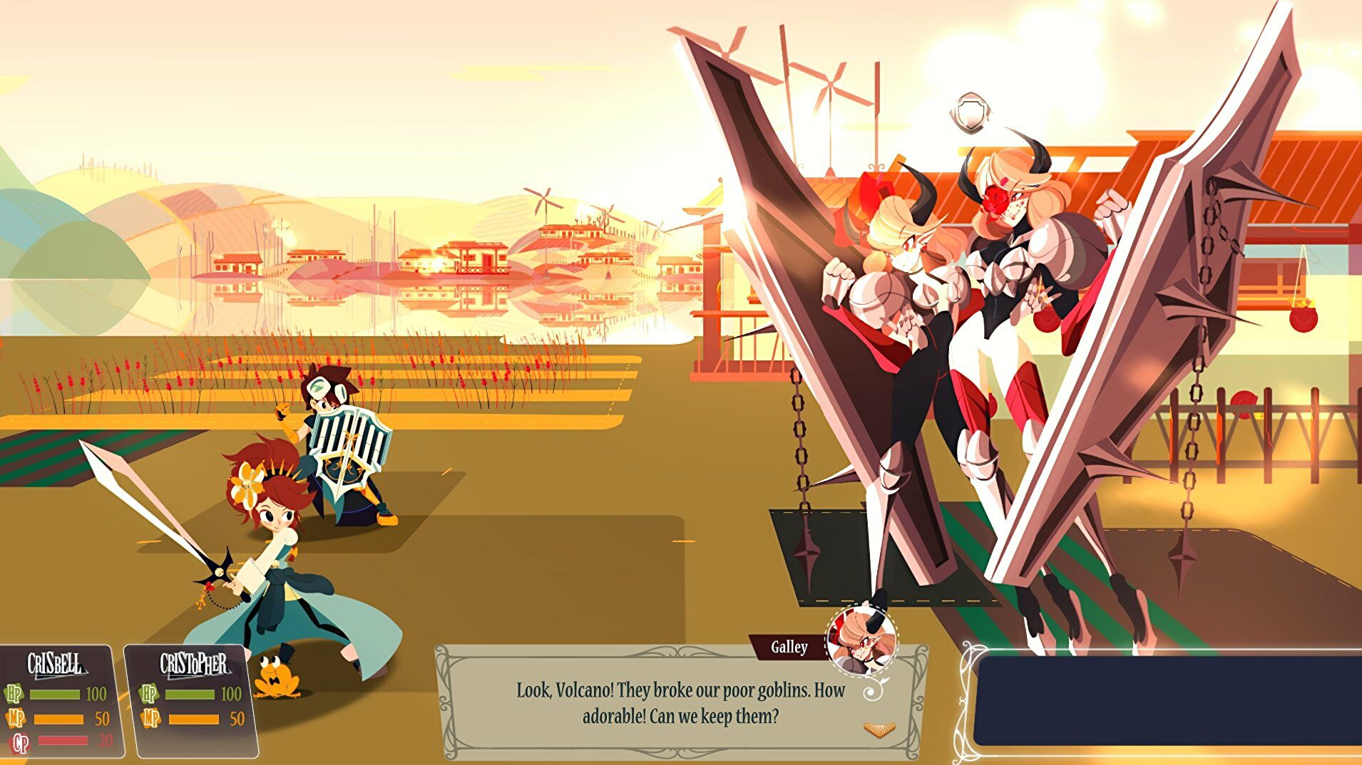 Try the demo for Cris Tales, a clever time travel JRPG | Rock Paper Shotgun