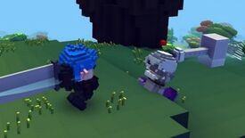 Image for Cube World Dinosaur Takes A Promotional Beating