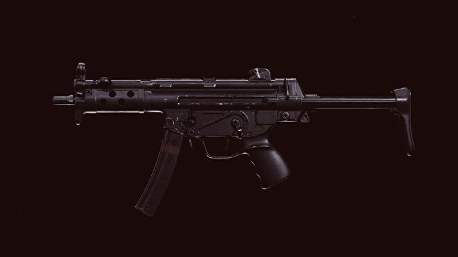 The Cold War MP5 in Call of Duty: Warzone