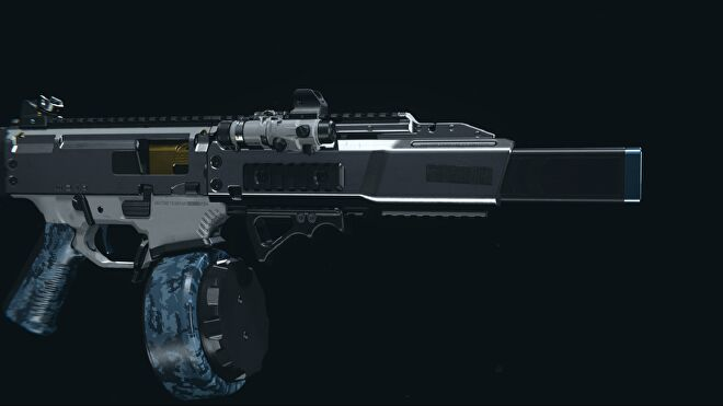 A blueprint for the CX-9 SMG in Warzone
