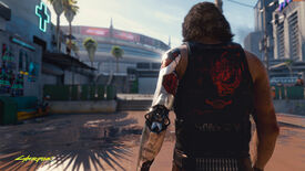 Image for Cyberpunk 2077's in-game context doesn't matter if its marketing contributes to transphobia right now