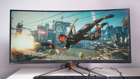 Image for Cyberpunk 2077 in ultrawide is great for people-watching, but not much else