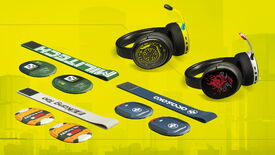 Image for Now you can get a Cyberpunk 2077 headset to match your Cyberpunk graphics card