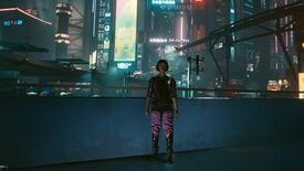 Image for Cyberpunk 2077 third-person mod gives V scary legs
