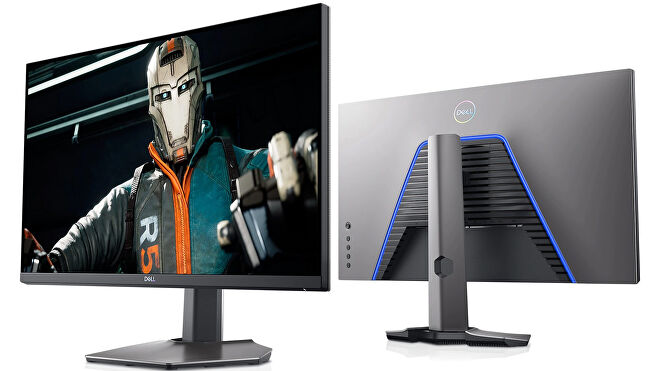 a photo of a dell s2721dgf gaming monitor