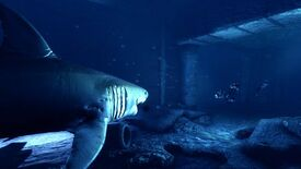 Image for Shark! The Hunted Divers Scream: Depth Out Now
