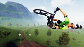 Image for Mountain biker Descenders is out in early access