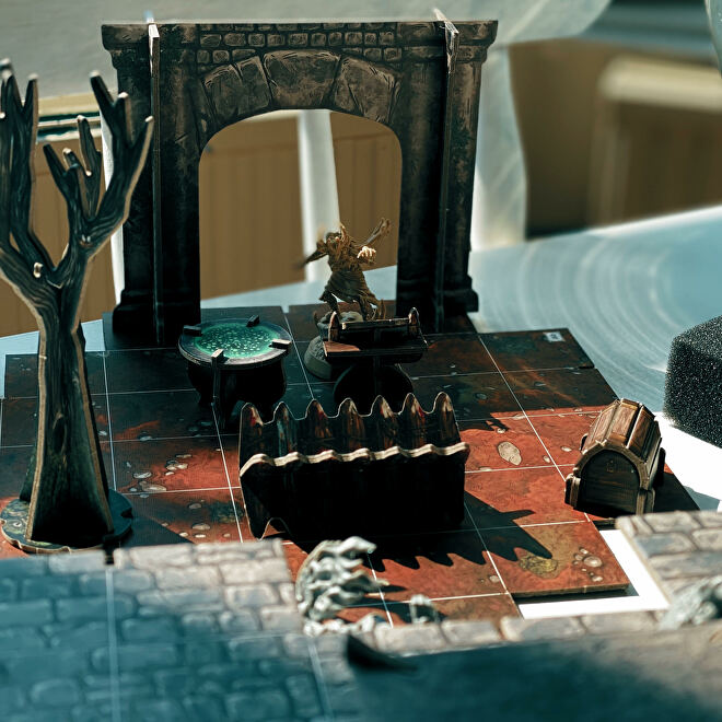 Photos of the Descent: Legends Of The Dark board game