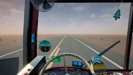Image for Desert Bus VR remakes vintage joke drive 'em up for free