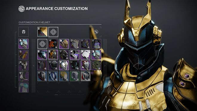 A peek at the new appearance customisation screen coming to Destiny 2 with season 14.