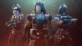 A fireteam wearing Destiny 2's new Iron Banner armour set from Season of the Lost.