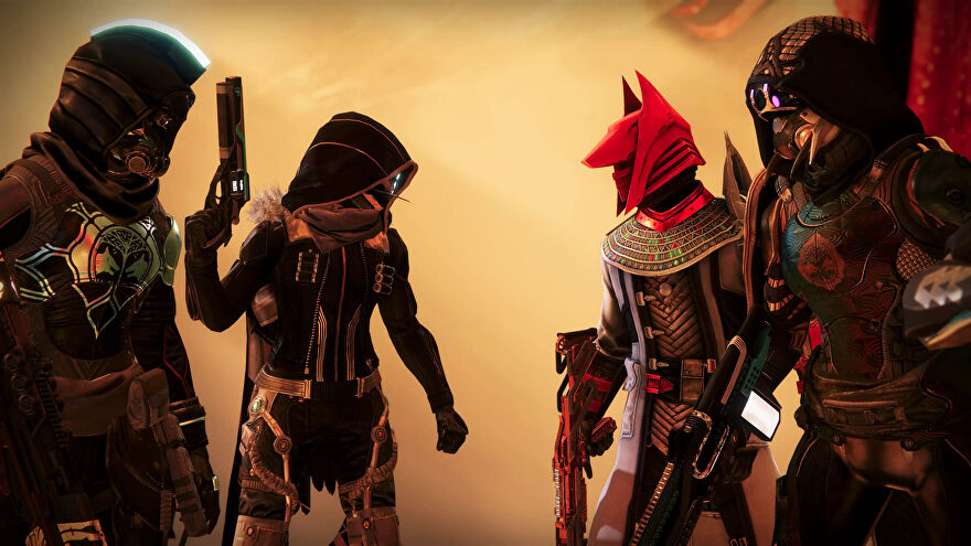 Guardians face off in a Destiny 2 Trials of Osiris screenshot.
