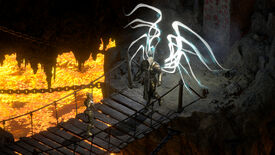 Meeting Tyrael in a Diablo II: Resurrected screenshot.