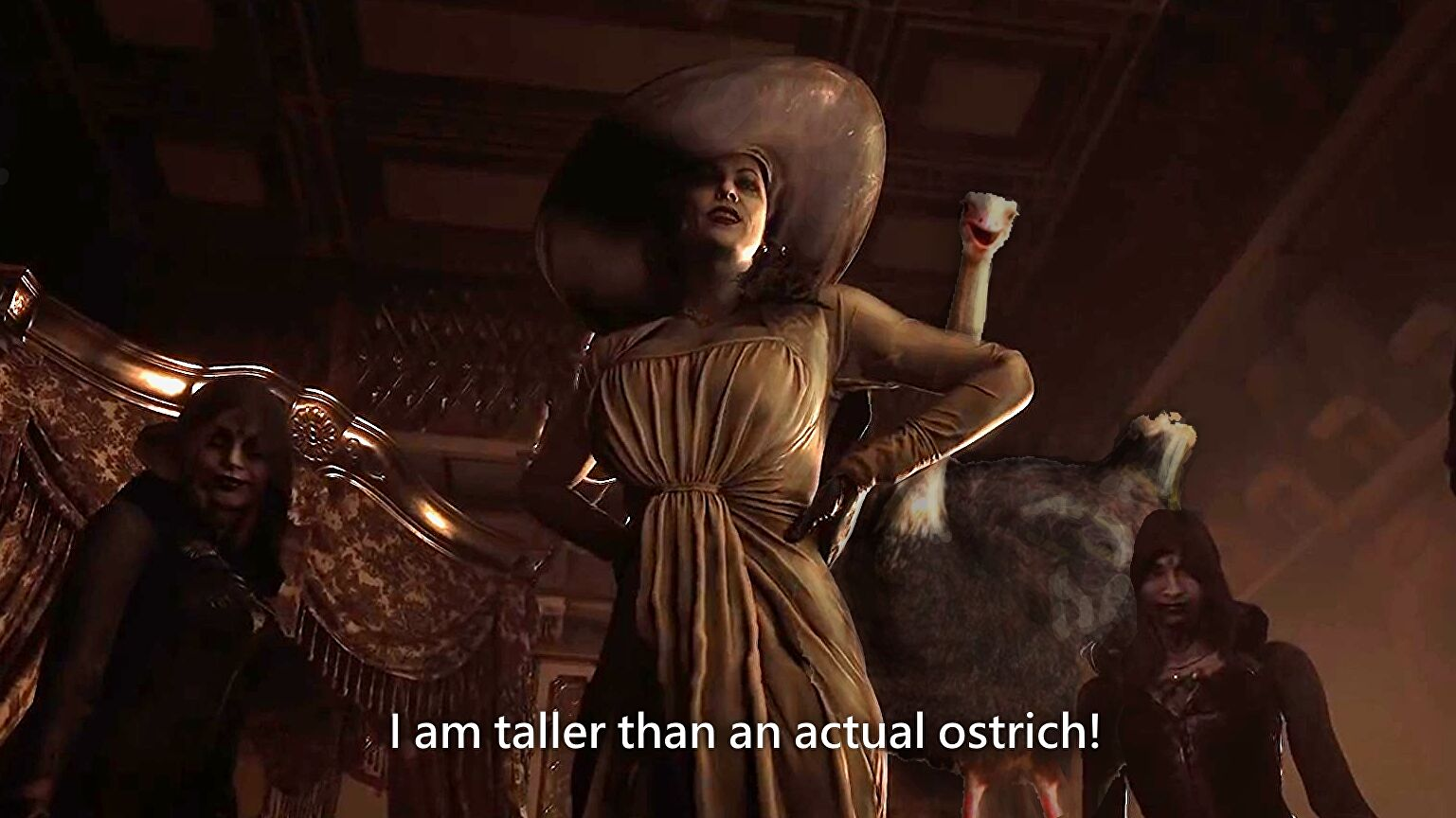 How tall is Resident Evil Village's Lady Dimitrescu ...