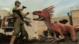 Image for Raptorous Applause: Dino D-Day Hits Steam