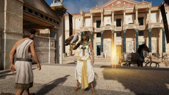 Assassins Creed: Origins Tour Mode Censors Naked Statues