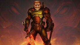 Image for AI researcher turns his face into the Doomguy, unleashes hell