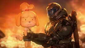 Image for This Doomguy and Isabelle video is gut-rippin' gold
