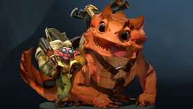 Image for Dota 2's Snapfire can now spit your pals at your enemies