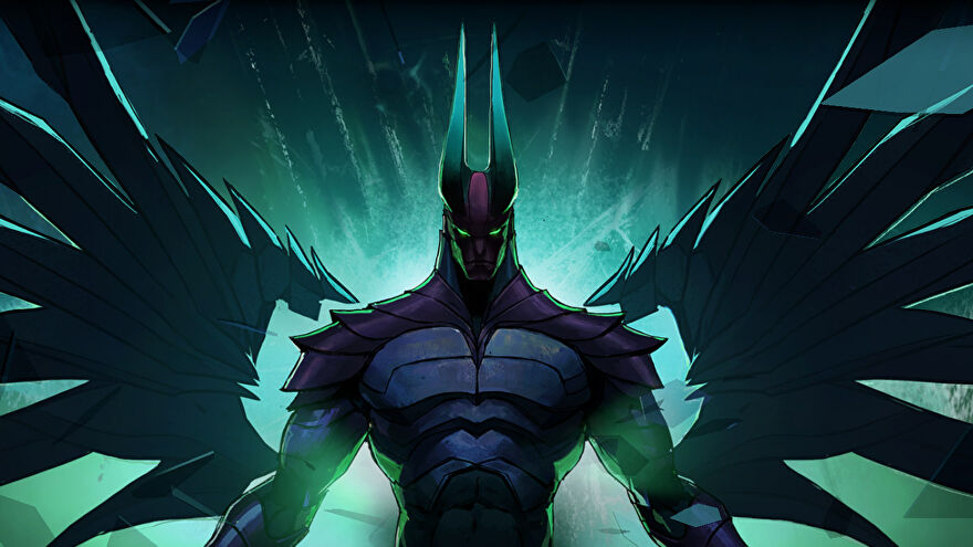 Terrorblade in the Dota: Dragon's Blood animated series.